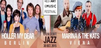 "Concert Jazz @ RestArt and Music Festival! 30 Octombrie, Filarmonica ""Dinu Lipatti"""
