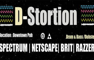 """D-Stortion"" – Drum & Bass | Dubstep! 8 Octombrie, Downtown Pub"