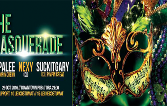 "Halloween Party, ""The Masquerade""! 29 Octombrie, Downtown Pub"