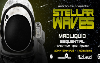 Stellar Waves ▵ Astronuts! 11 Noiembrie, DownTown Pub