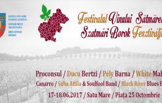 Festivalul Vinului, sâmbătă și duminică, la Satu Mare!